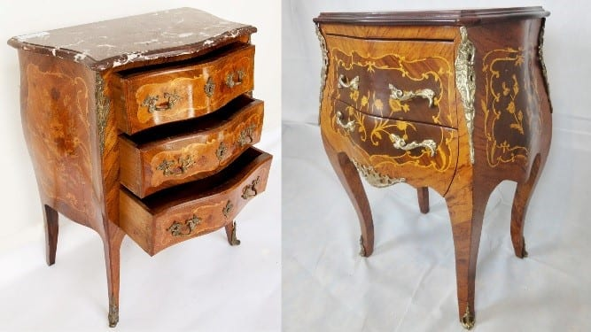 (Left) Original 19th Century French Furniture Can Be Hard To Find In Good  Condition